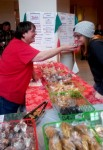 Dolci was one of the few food vendors - biscotti for everybody