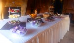 Breakfast-buffet-table
