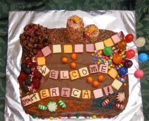 Game board cake