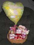Welcome Baby! Gift basket