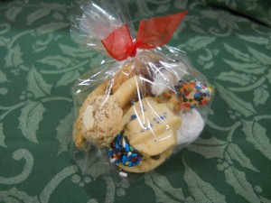 Cookie packets for special events