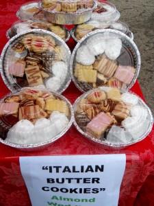 Westiside Farmer's market tins