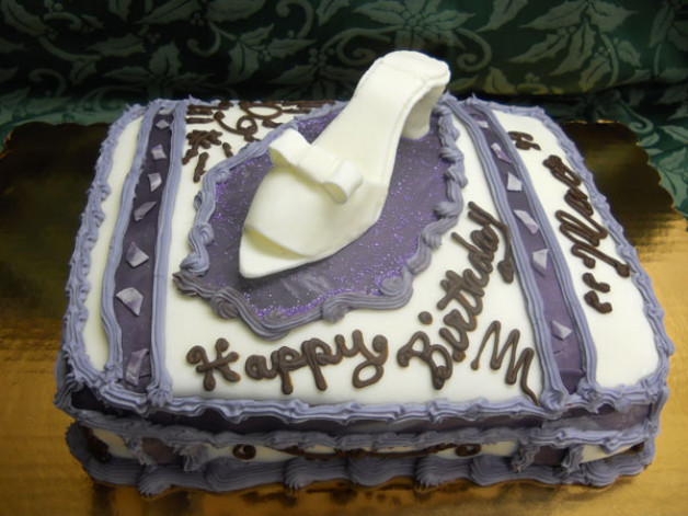 High Heel Shoe Cake – Surprise Birthday Party 2012