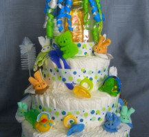 Diaper Cake – inedible