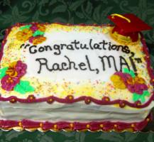 2012 Graduation Cake
