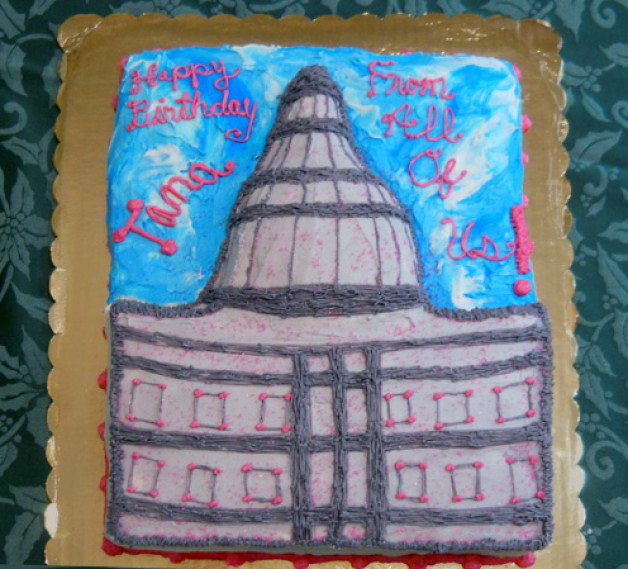 State Capitol Cake