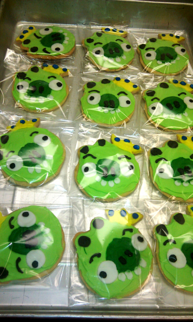 Bad Piggy Cookies – Angry Birds