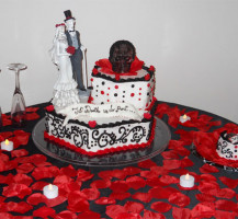 Custom Halloween Wedding cake