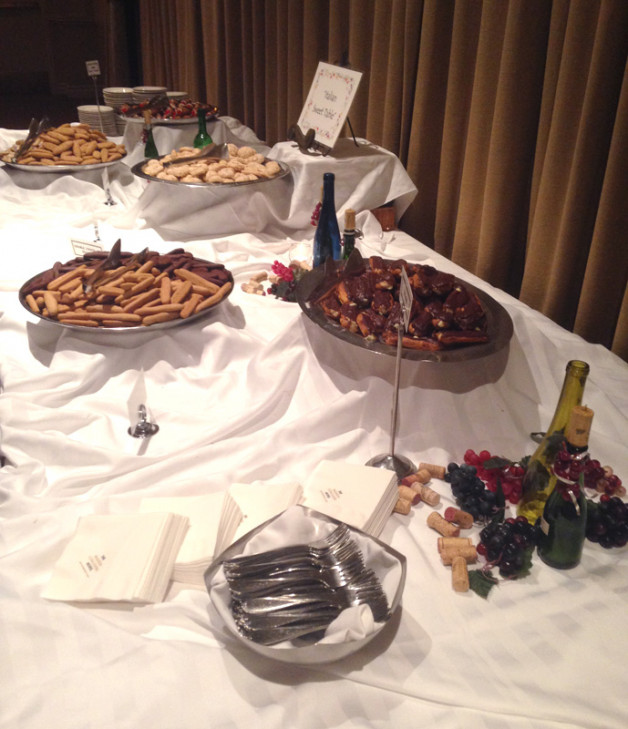 Table of Desserts for events