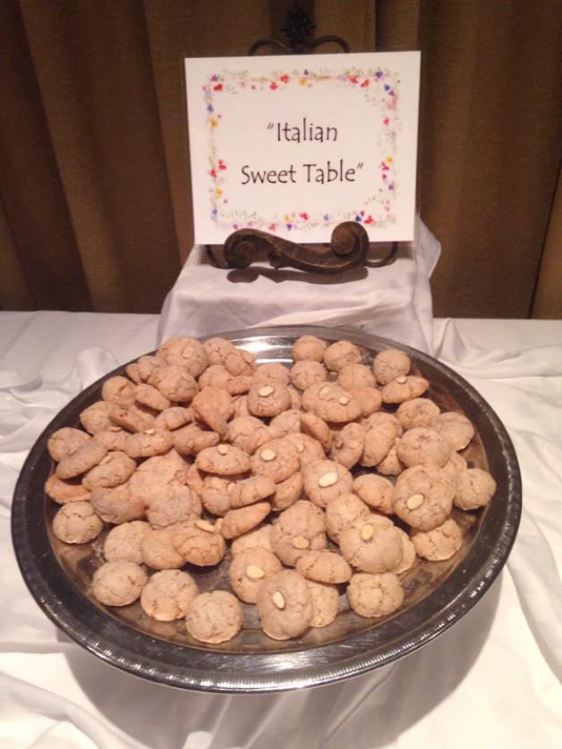 Amaretti (almond) Cookies GLUTEN FREE COOKIE