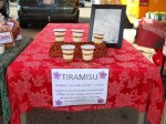 Tiramisu cups for Farmer's Market