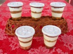 Dolci Tiramisu Cups by order or at wkly market