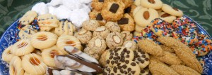 9 kinds of cookies pictured