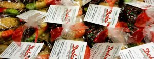 Little bags of cookies - we make favors for events
